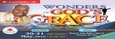 MAY - Wonders of God's Grace
